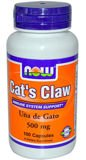 Now Foods Cat's Claw Koci Pazur 500 mg 100 kapsułek